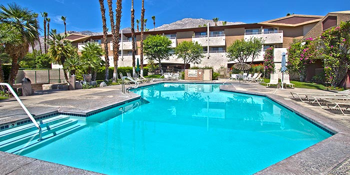 Biarritz condo community in palm springs condos town homes for beautiful palm springs resort style living at the biarritz surrounded by desert mountain views palm trees historic downtown palm springs restaurants mightylinksfo