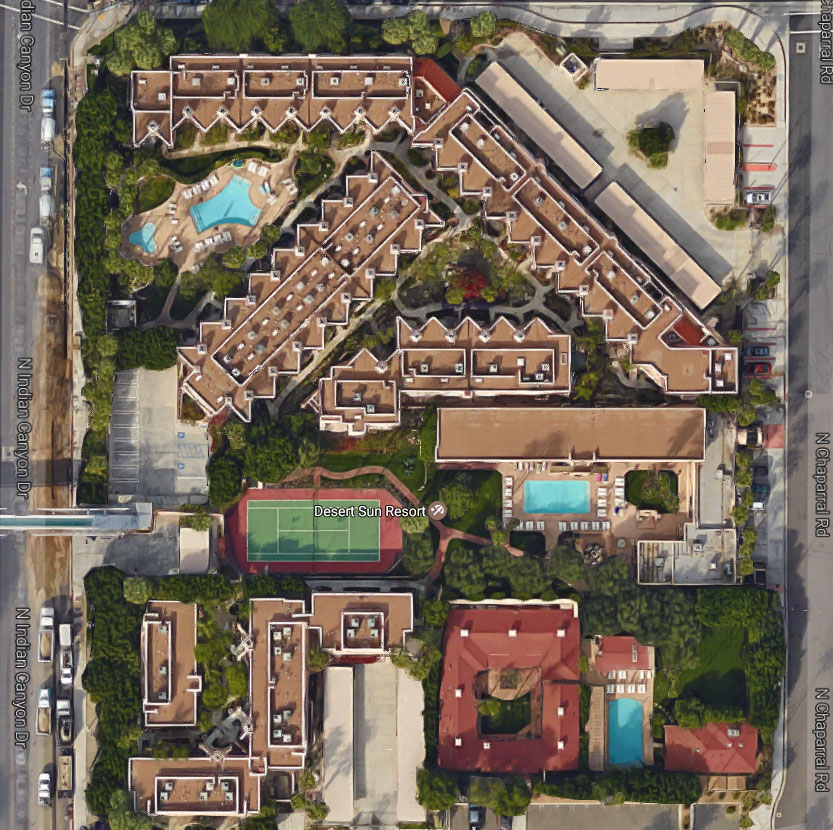 Condo Community In Palm Springs