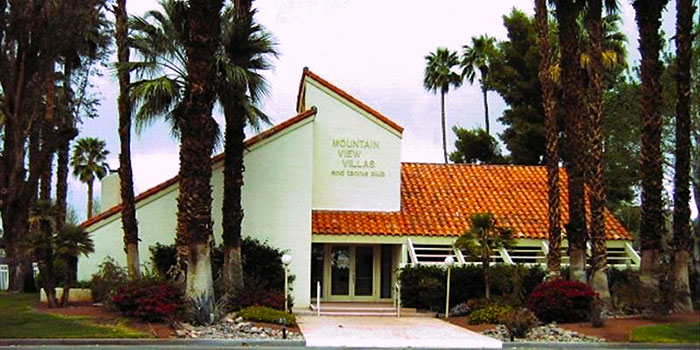 Mountain View Villas Condo Community In Rancho Mirage