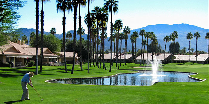 Chaparral country club condo community in palm desert for Thunderbird golf course palm springs