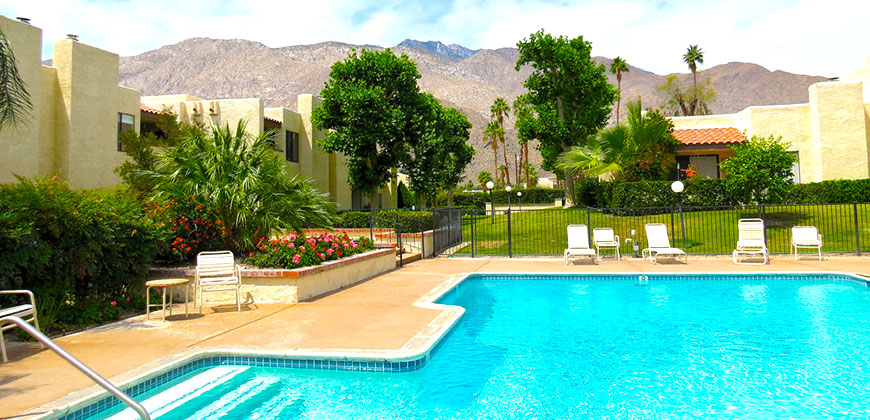 St Tropez Villas Condo Community In Palm Springs