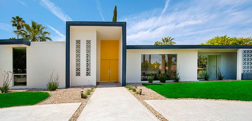 R Home Design Palm Desert Part - 36: The Neighborhood Of Deepwell Offers A Variety Of Architectural Styles, From  The Mid-century Style, To Desert Ranch Style, To Even More Modern Style  Homes.