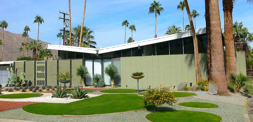 Twin palms palm springs neighborhood homes for sale for Palm springs mid century modern homes for sale