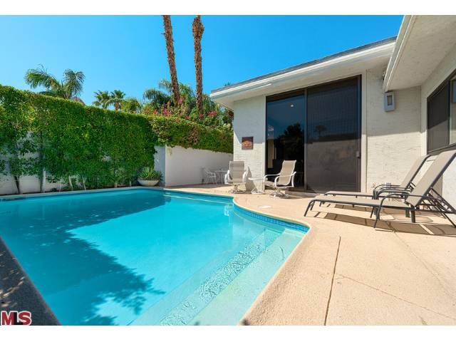 Palm Springs's Club Condominiums, units with private pools