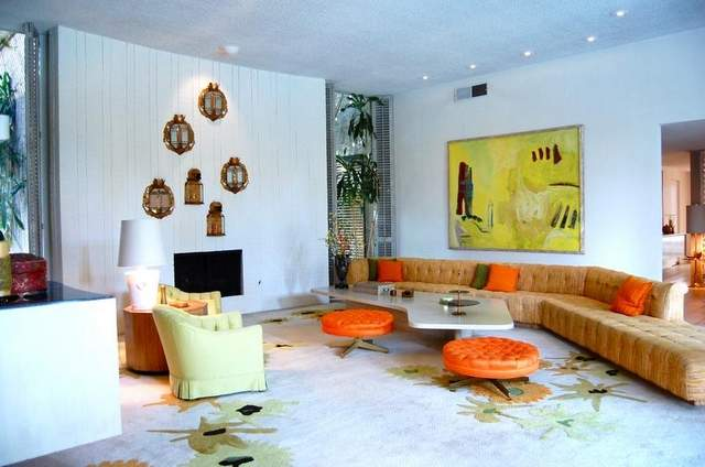 Lovely ... Arthur Elrod Mid Century Modern Palm Springs Home