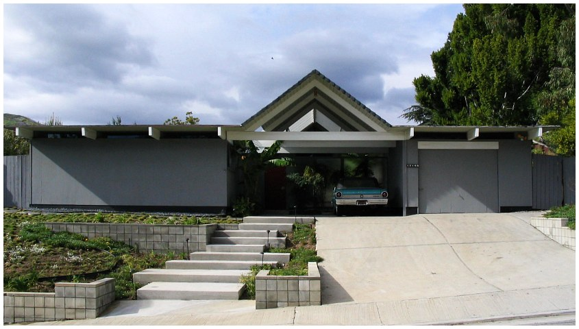 New this century modern eichler homes built in palm springs for Eichler designs