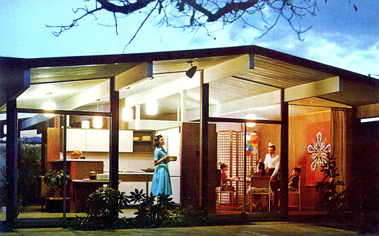 New This Century Modern Eichler Homes Built In Palm Springs