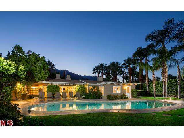 Dinah Shore's palm springs luxury home in the Movie Colony