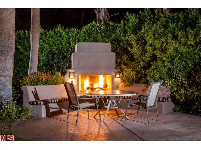 Dinah Shore's residence in Palm Springs' Movie Colony neighborhood