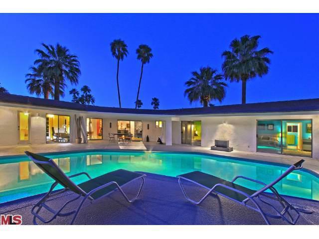 Modern real estate in the Mesa Neighborhood of Palm Springs