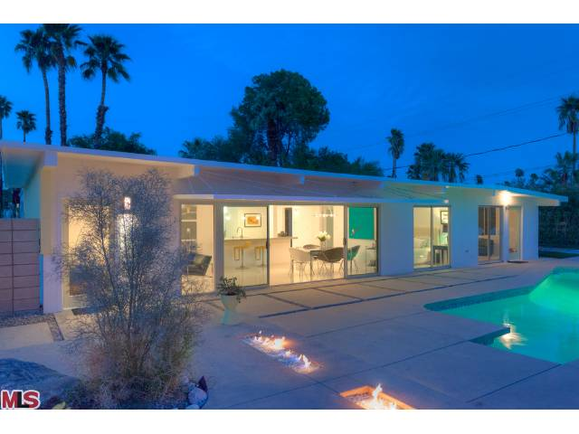 4 Bedroom Mid Century Modern Home For Sale In Palm Springs