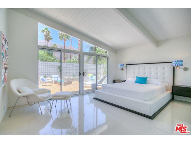 Modern master bedroom in Vista Las Palmas