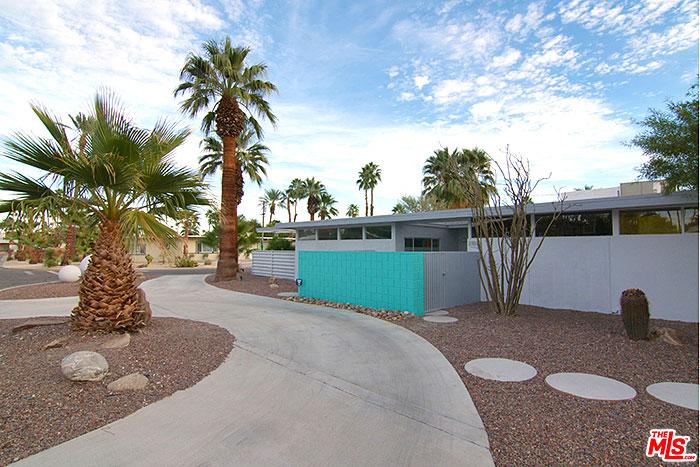 Central palm springs sunrise park mid-century modern real estate