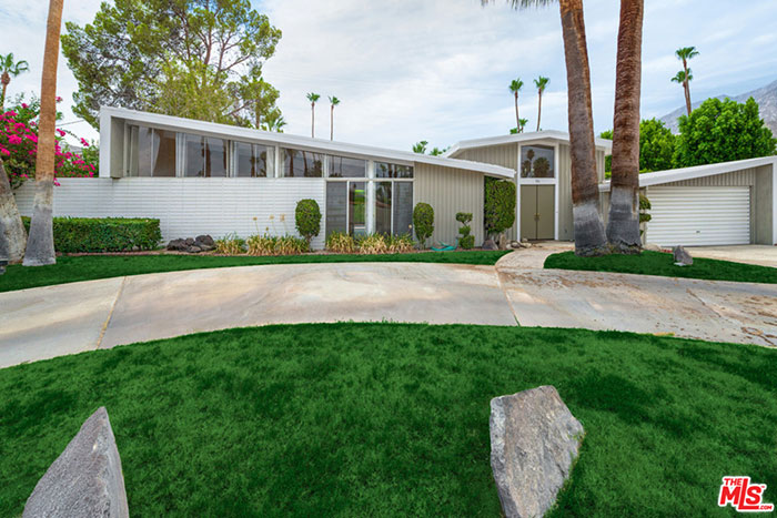 Twin palms estate mid century modern opportunity in palm for Twin palms estates palm springs