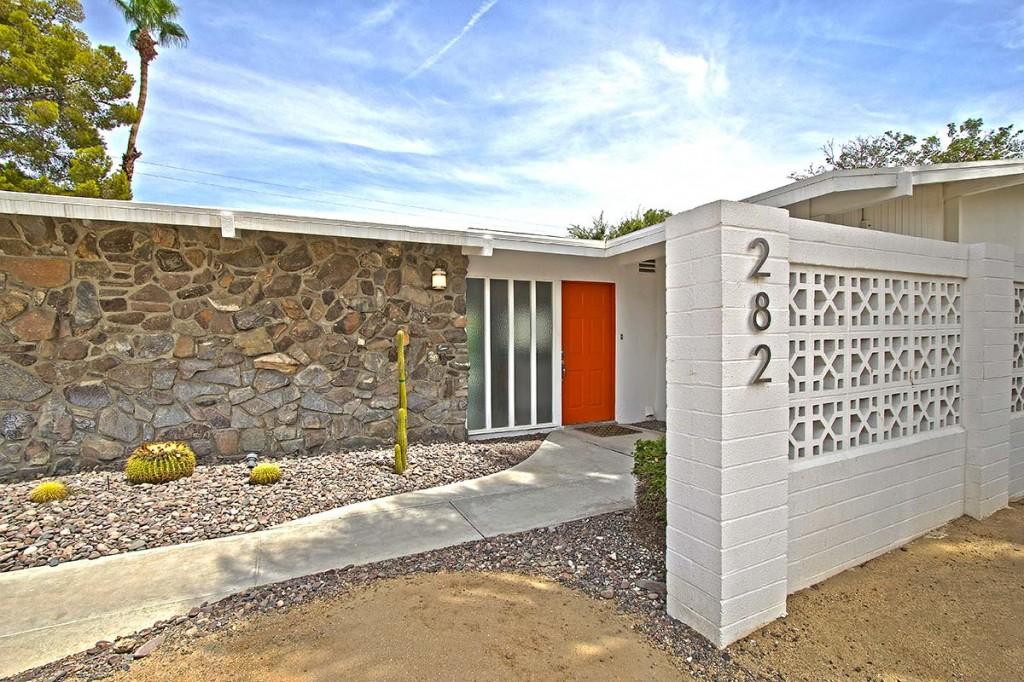 William Krisel designed home in Sunrise Park, Palm Springs, CA
