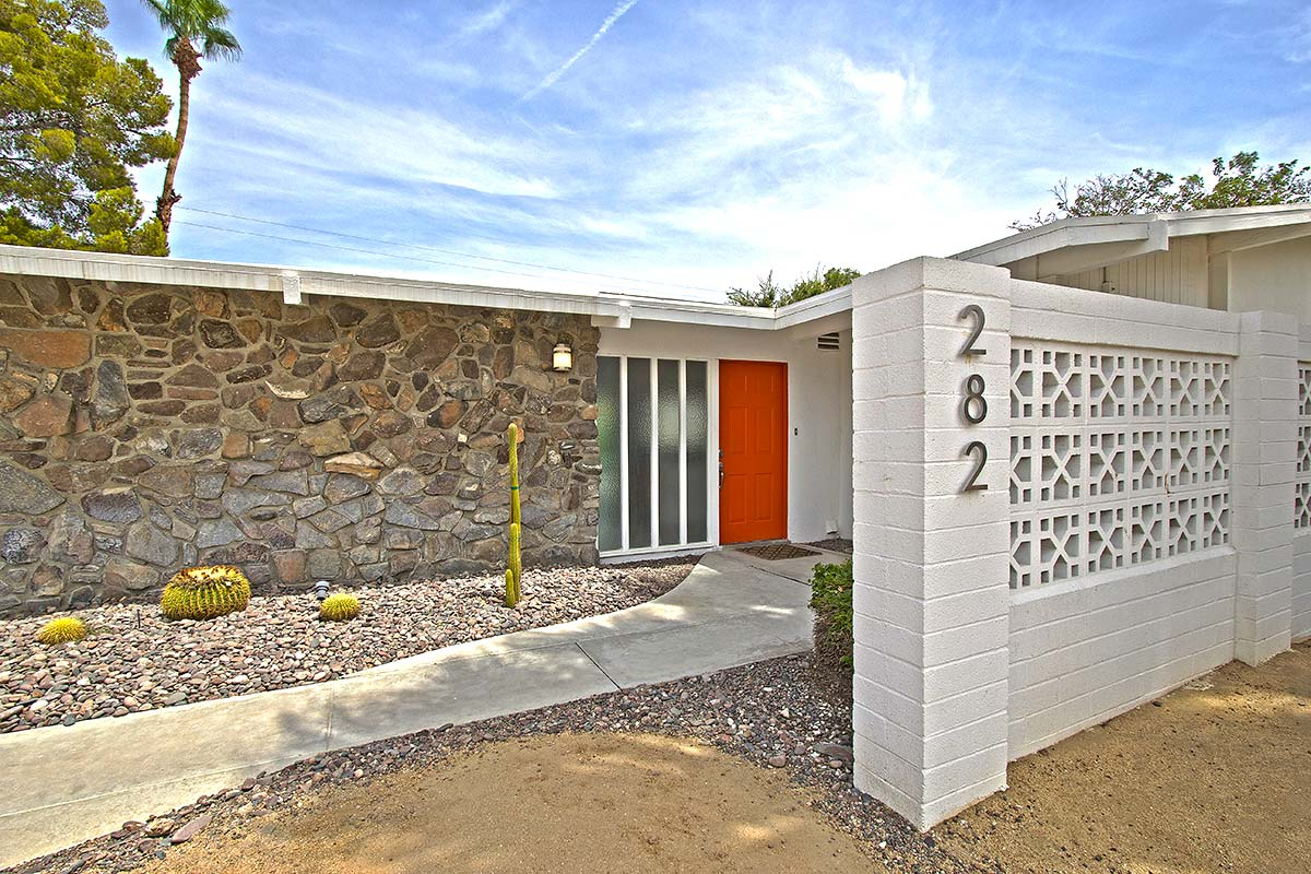 william krisel designed home in sunrise park palm springs ca