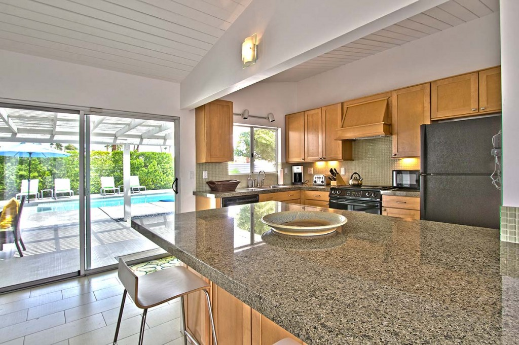 Large open kitchen in Sunrise Park, Palm Springs, CA