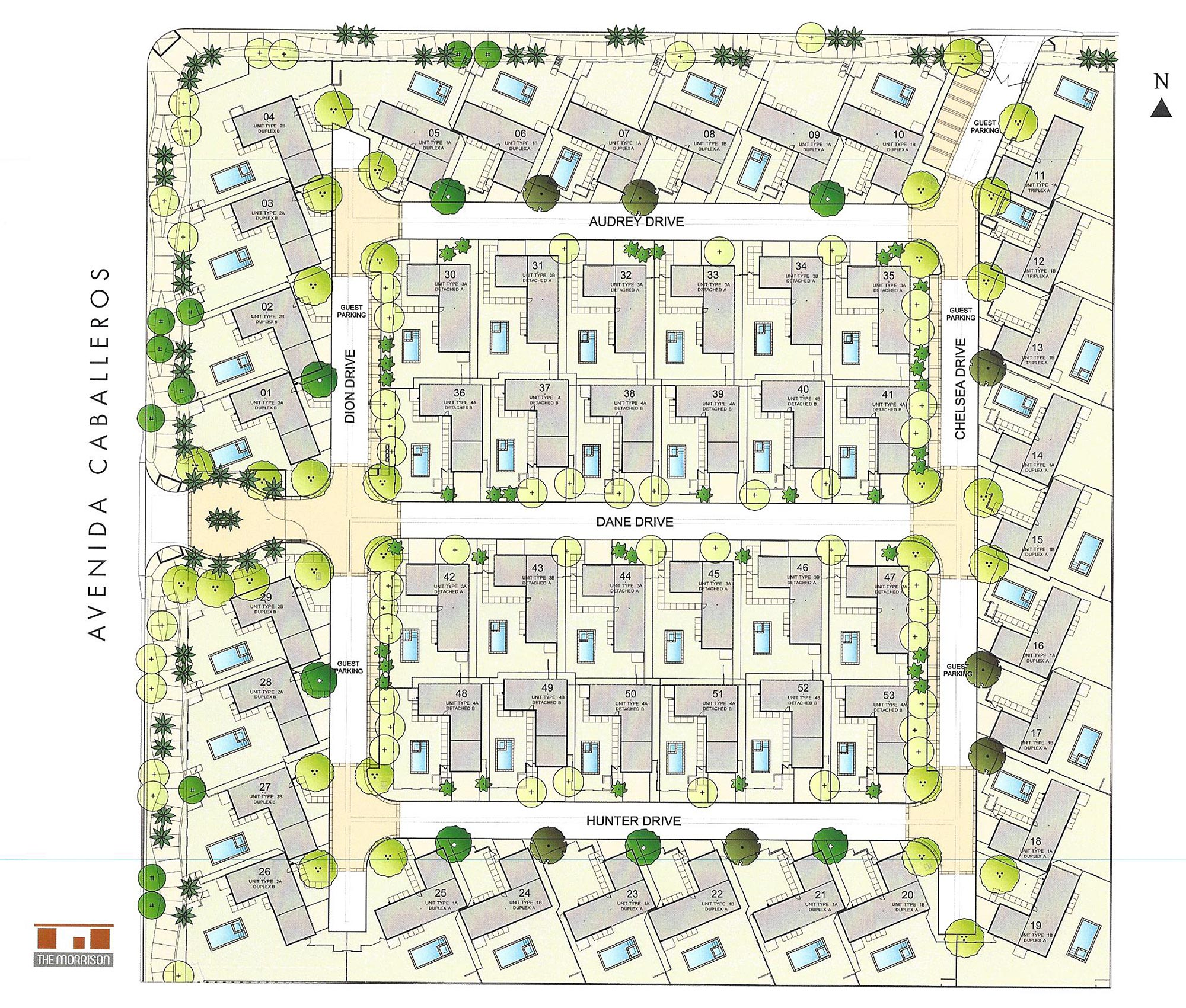 the morrison palm springs neighborhood homes for sale palm view the community map