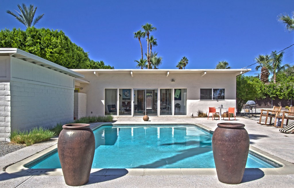 Jack Meiselman Mid-century modern home with large pool