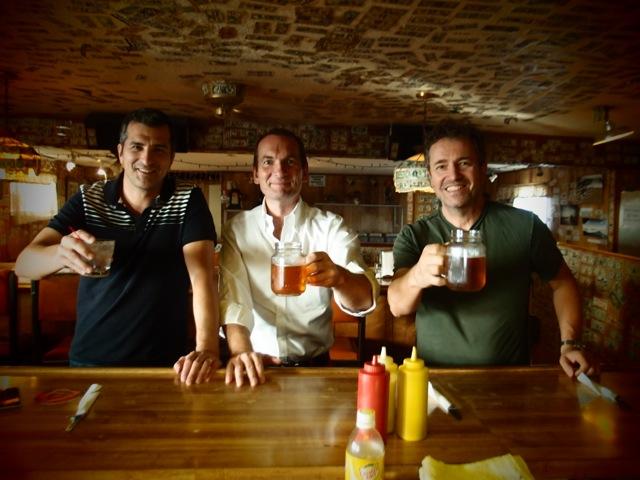 Alex, Erik, André