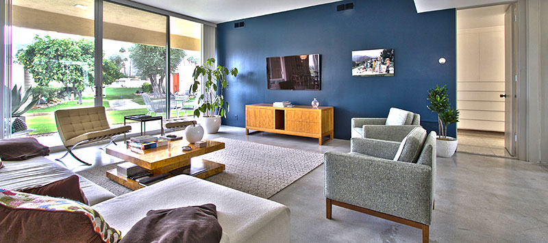 159 Desert Lakes - Luxurious mid-century modern Living Room