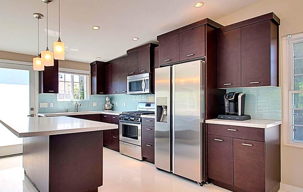 Updated open kitchen
