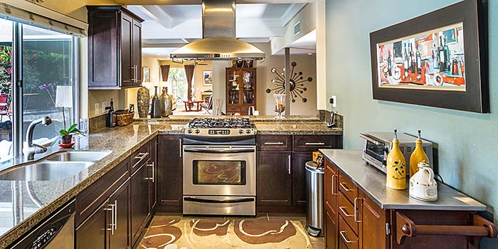 Updated kitchen in Sunrise Park, Palm Springs