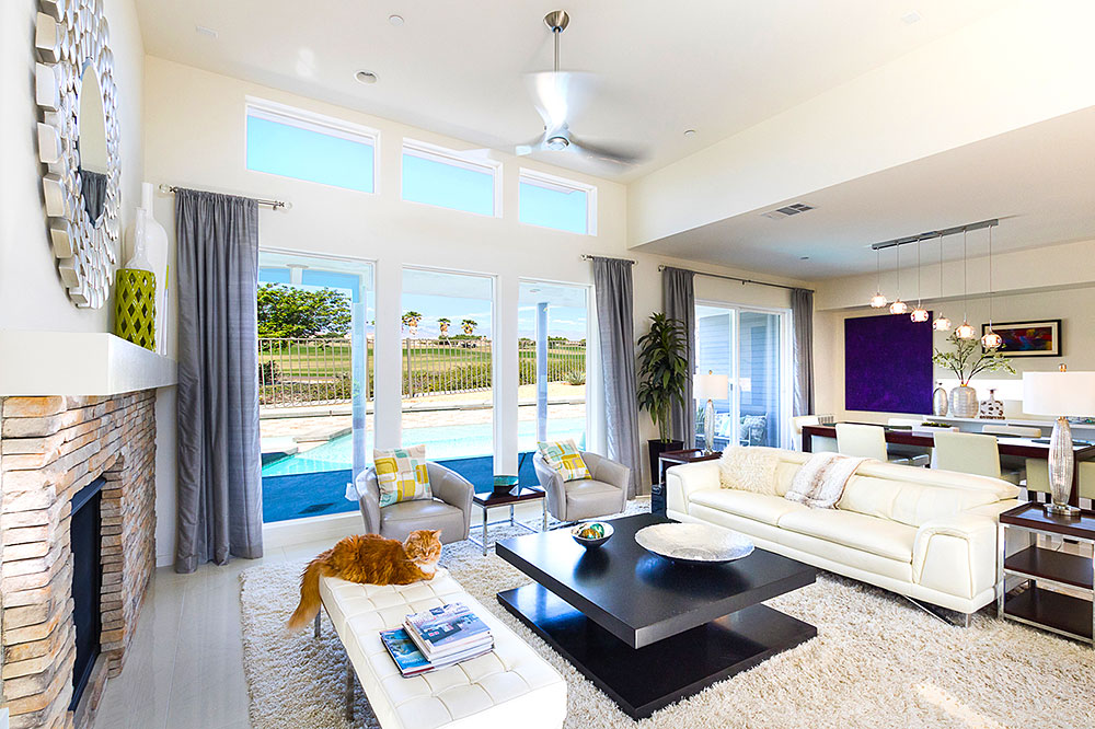 Golf course home for sale in Palm Springs
