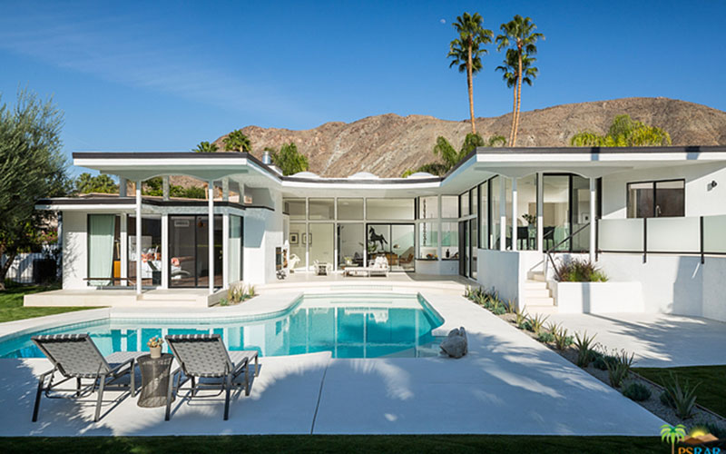 Palm springs houses images modern house for New modern homes palm springs