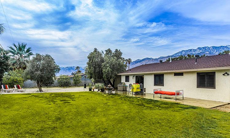 Desert Park Estate home with large yard
