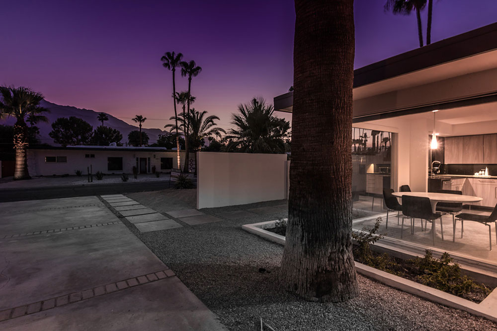 Architectural detail at 404 Monterey rd, Palm Springs, CA