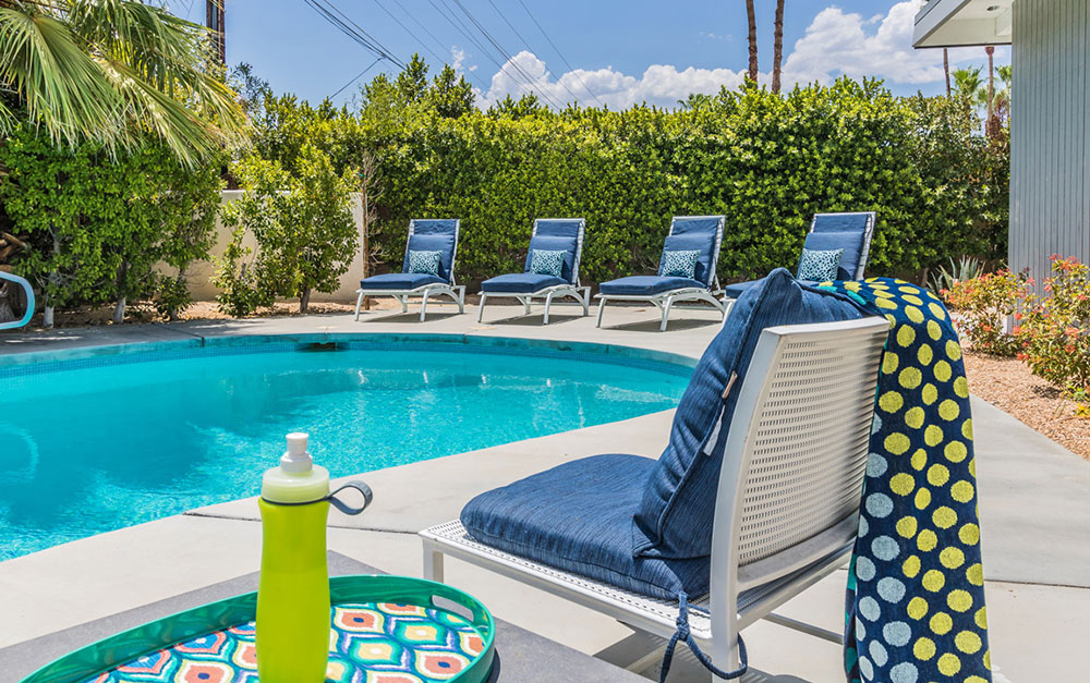 Pool at 404 Monterey rd, Palm Springs, CA
