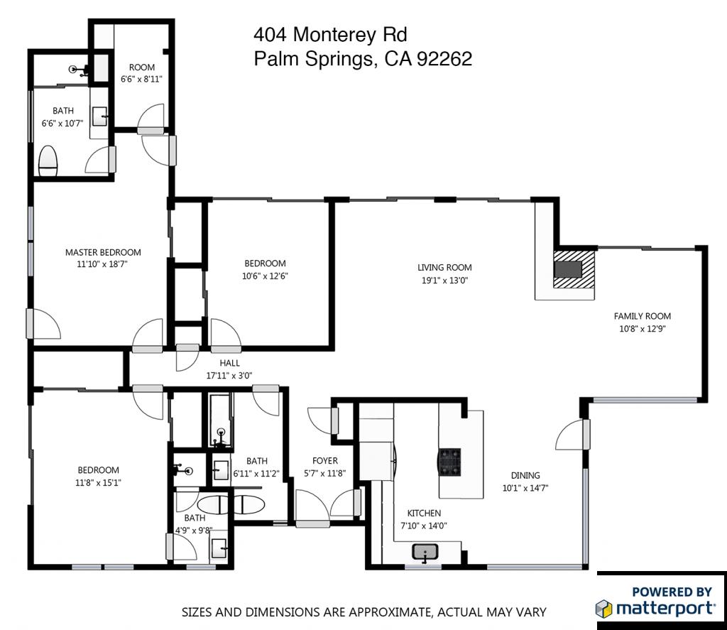 404 N Monterey Rd floorplan