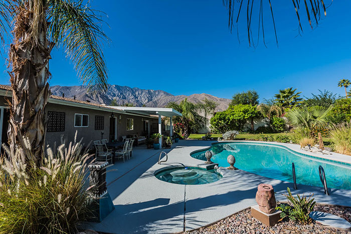Huge backyard with mountain views at 420 Yorba Rd