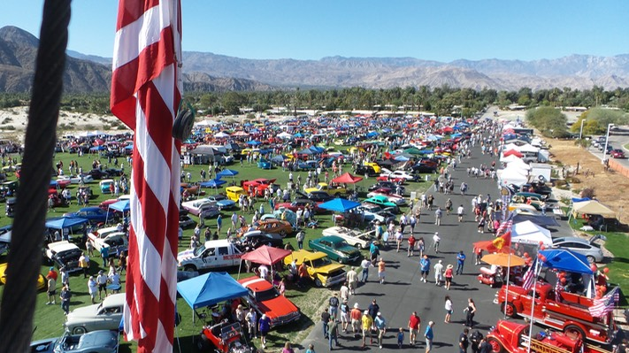 Dr George Car Show Events Palm Springs