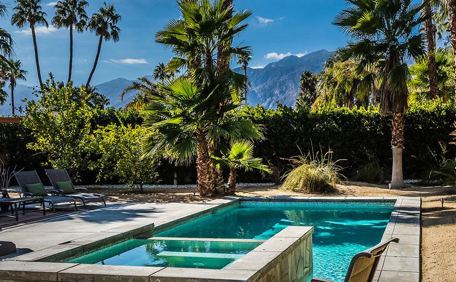 3578 Vivian Way, pool & spa with mountain views