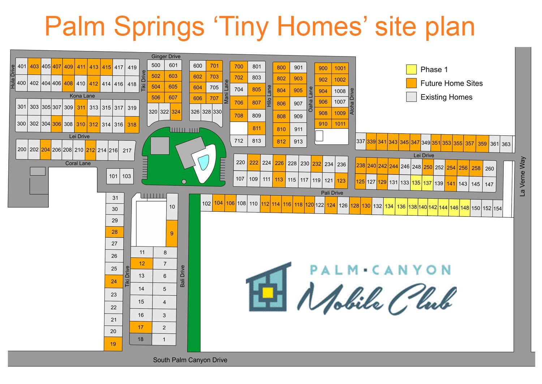 Palm Springs Mobile Home Park Rentals