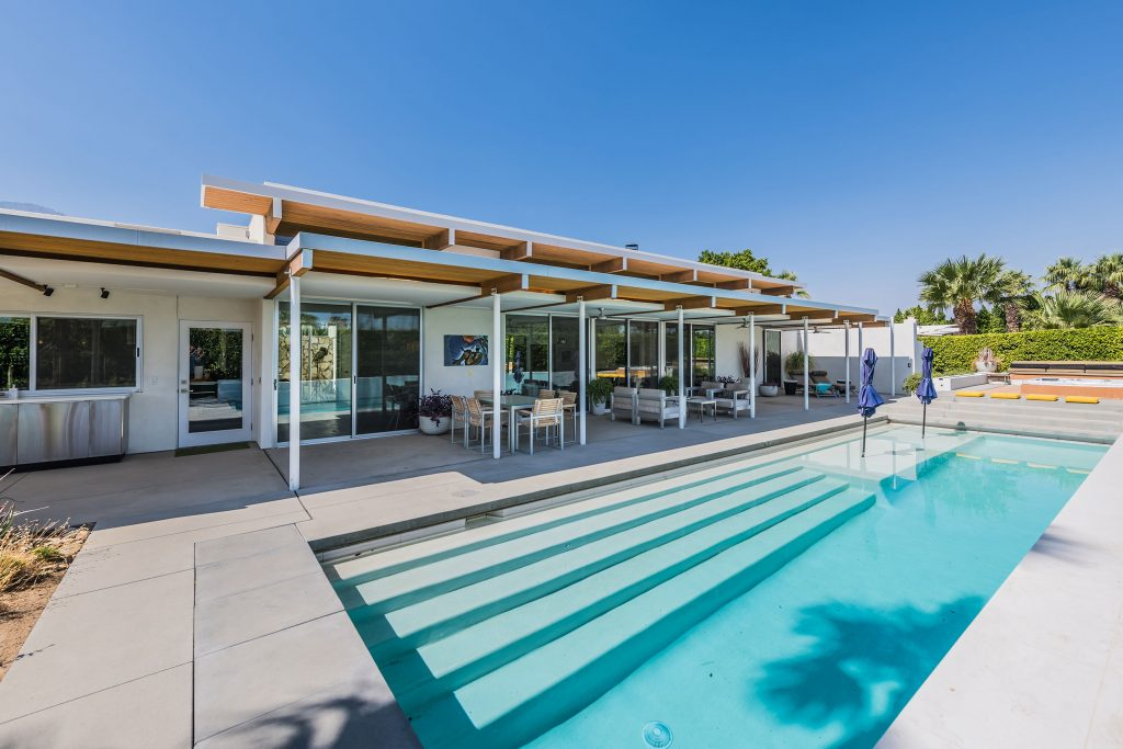 Modern architecture in Palm Springs, CA